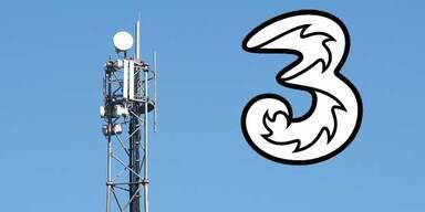 """Mobilfunker """"3"""" kauft sein Netz zurück"""