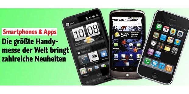 Handymesse: Neue Smartphones & Apps