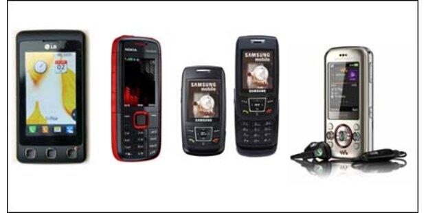 Die besten Handys unter 160 Euro