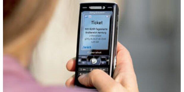 Handy-Tickets werden immer wichtiger