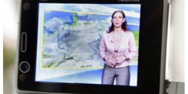 Bures ließ sich Handy-TV-Kampagne 207.000 Euro kosten