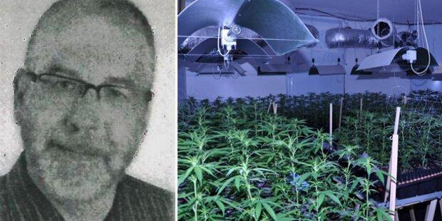 Hanfplantage: Polizei sucht nach dem Mieter