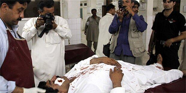32 Tote bei Anschlag auf Polizei