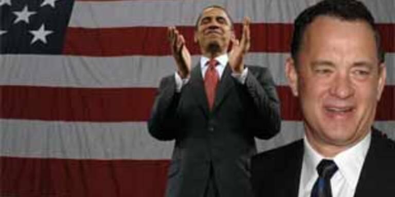 Tom Hanks unterstützt Obama