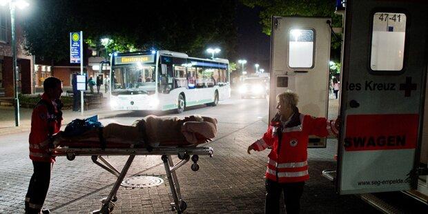 Massenevakuierung in Hannover