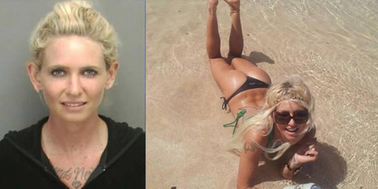 Sexy Surferin überfährt Rentnerin