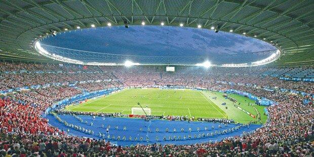"""Happel-Stadion wird """"tiefergelegt"""""""
