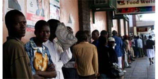 Gut 300.000 Menschen von Cholera bedroht