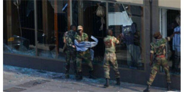 Simbabwe versinkt im Chaos