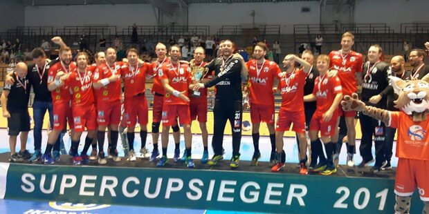 Handball: 22:17-Supercupsieg bei Meister Krems als Harder Kampfansage