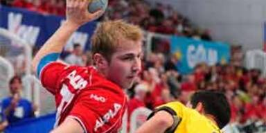 Hard gewinnt Europacup-Final-Hinspiel gegen Resita