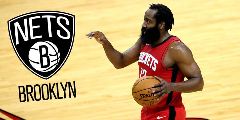 Mega-Trade: Harden wechselt zu den Brooklyn Nets