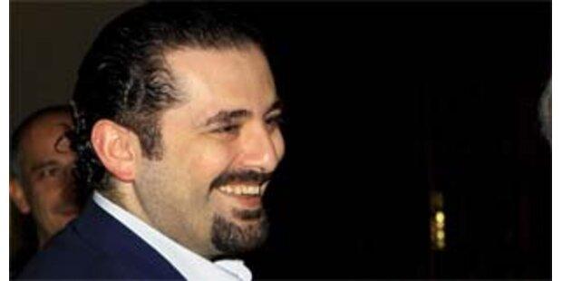 Hariri soll libanesischer Regierungschef werden