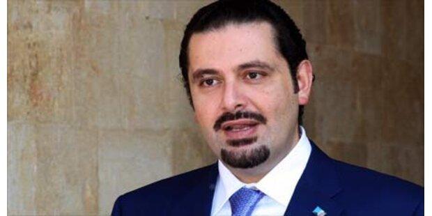 Hariri gibt im Libanon auf