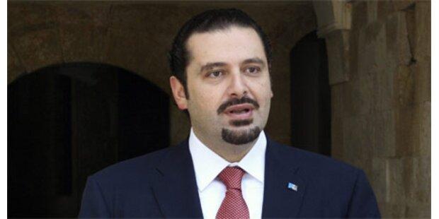 Hariri ringt um neue Regierung
