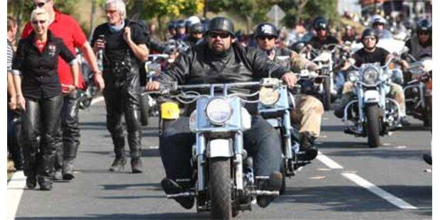 75.000 Harleys auf der Bike Week