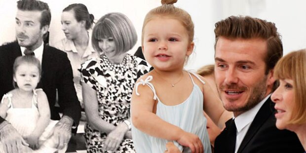 Harper bringt Anna Wintour zum Lächeln