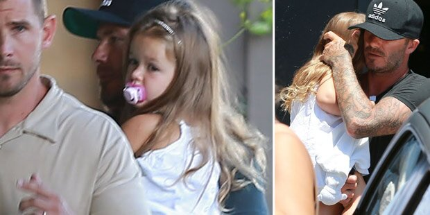 Harper Beckham ist Papas Liebling