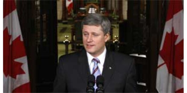 Opposition in Kanada stürzt Regierung Harper