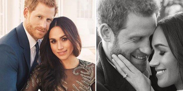 Harry & Meg: Offizielle Verlobungsfotos