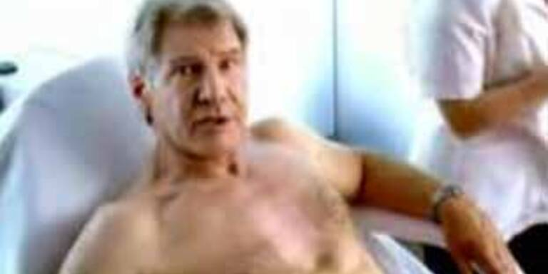 Harrison Ford beim Waxing