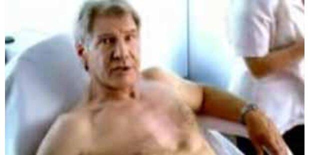 Harrison Fords Brusthaare für Klimaschutz entfernt