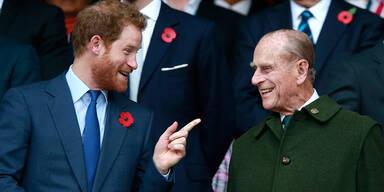 Prinz Harry: Berührende letzte Worte an Opa Philip