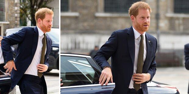 Harry: Er pfeift auf royale Regel und wird gefeiert