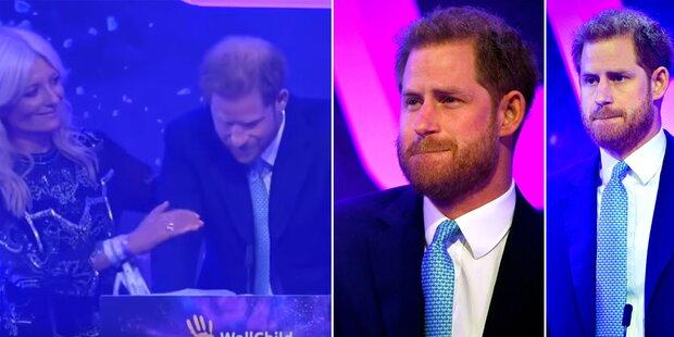 Prinz Harry: Tränen und Rührung bei Rede