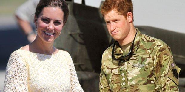 Prinz Harry mit Busen-Fotos von Kate erwischt