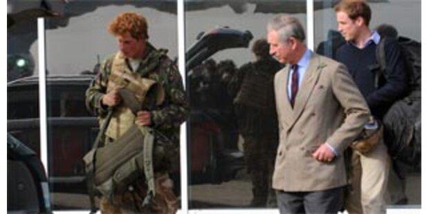 Prinz Charles ist stolz auf Harry
