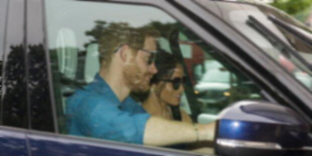 Harry & Meg: Erstes Bild nach Hochzeit