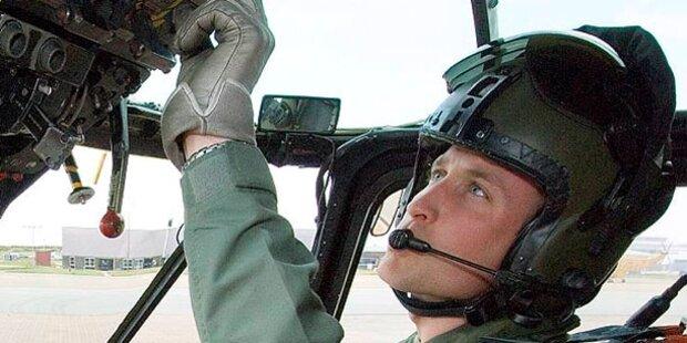 Prinz William auf Falkland-Inseln im Einsatz