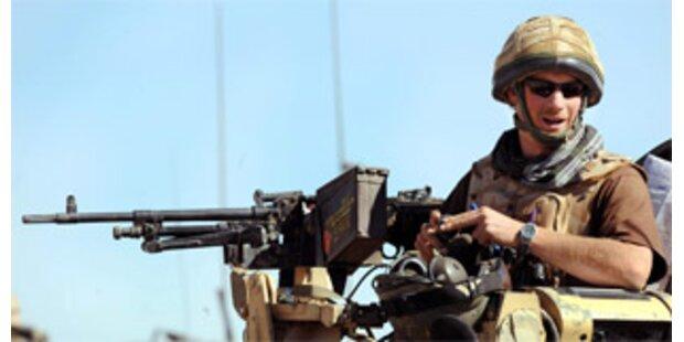 Briten holen Harry aus der Afghanistan-Hölle