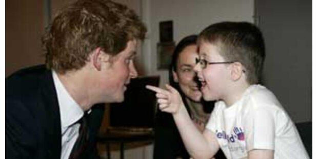 Harry setzt die Charity-Arbeit seiner Mutter fort