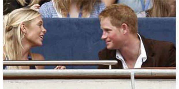 Prinz Harry und Chelsy in Südafrika