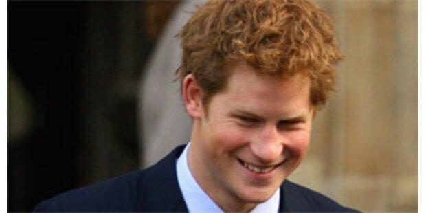 Prinz Harry gibt das Rauchen auf