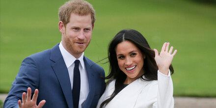 Meg & Harry laden Volk zur Hochzeit ein