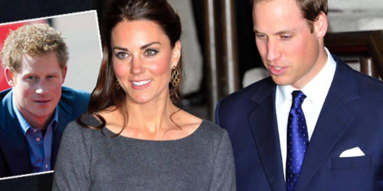 William & Kate: Voll genervt von Prinz Harry