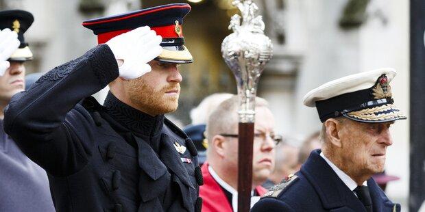 Prinz Philip: Er riet Harry von Meghan-Hochzeit ab