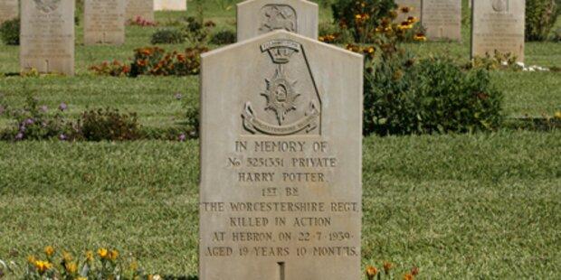 Hier liegt Harry Potter begraben