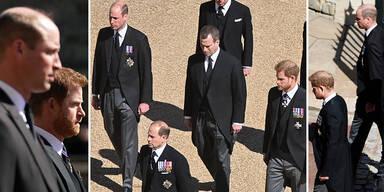 William Harry Begräbnis Philip