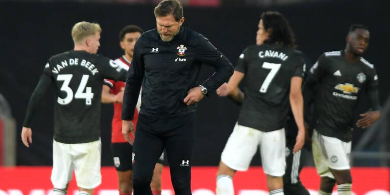 ManU-Stürmer Cavani beendet Southampton-Serie