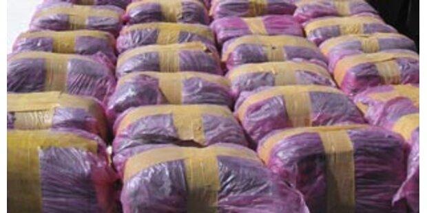 Spanische Polizei findet acht Tonnen Haschisch