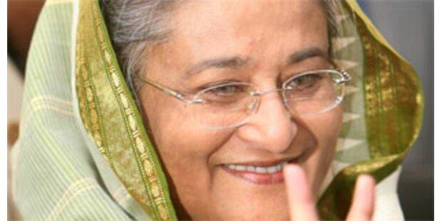 Sheikh Hasina gewinnt Wahl in Bangladesch