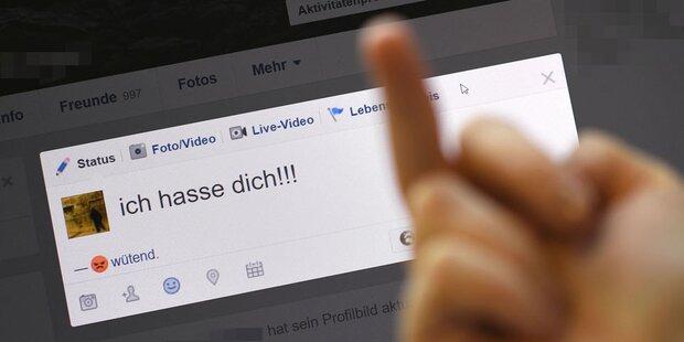 1.960 Hasspostings in Österreich gemeldet