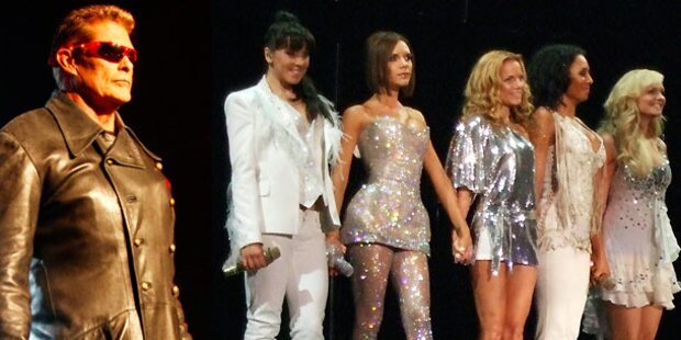 Hasselhoff & Spice Girls wollen hin