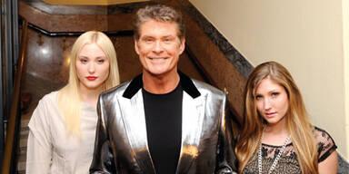 Hasselhoff: Tour mit Töchtern