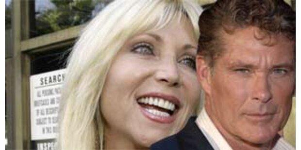 Hasselhoff zahlt 25.000 Dollar Unterhalt