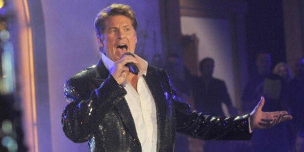 Hasselhoff gibt ORF-Exklusivkonzert